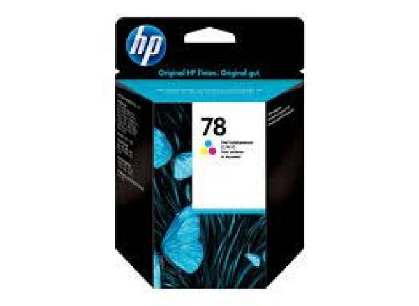 HP No.78 Large Tri-colour Ink Cartridge DeskJet 920/930/940/6127/6122/officejet 5110 [C6578A]