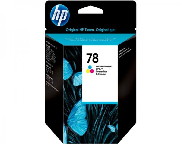HP No.78 Tri-Colour Inkjet Print Cartridge za DeskJet1280...(19ml) [C6578D] Standard capacity