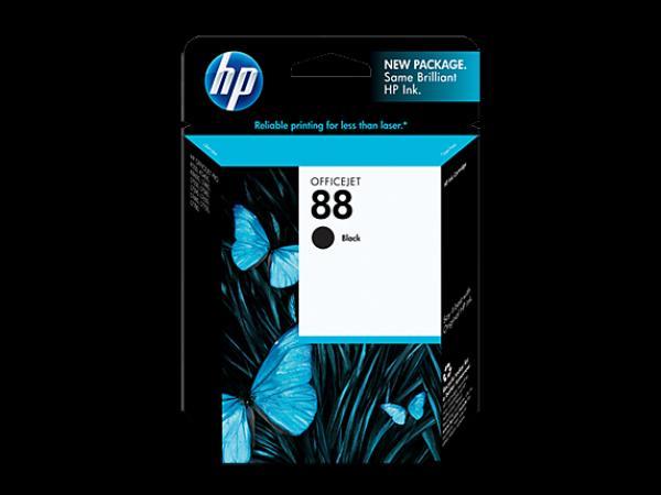 HP No.88 Black Ink Cartridge with Vivera Ink (za Officejet Pro K550, L7480/L7680) [C9385AE]