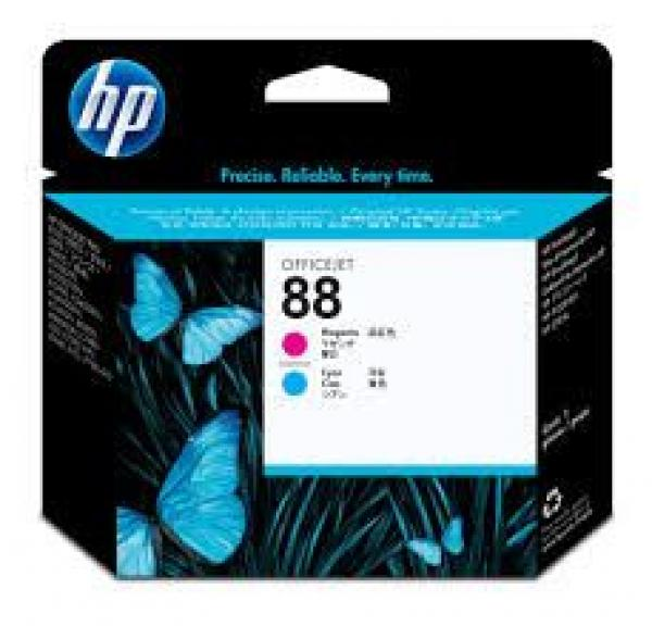 HP No.88 Magenta and Cyan Printhead  (za Officejet Pro K550, L7480/L7680) [C9382A]