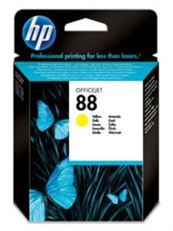 HP No.88 Yellow Ink Cartridge with Vivera Ink (za Officejet Pro K550, L7480/L7680) [C9388AE]