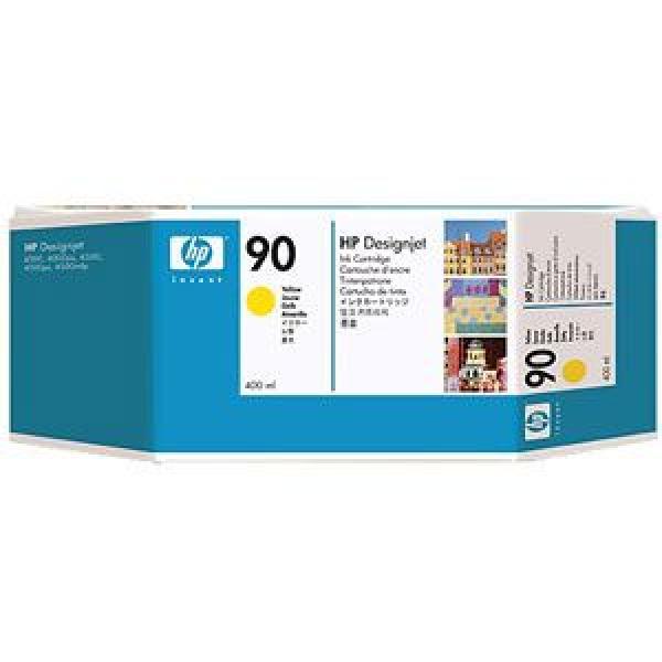 HP No.90 Yellow Ink Cartridge (400 ml) za ploter 4000/4000ps [C5065A]