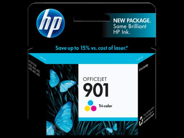 HP No.901 Tri-color Officejet Ink Cartridge [CC656AE]
