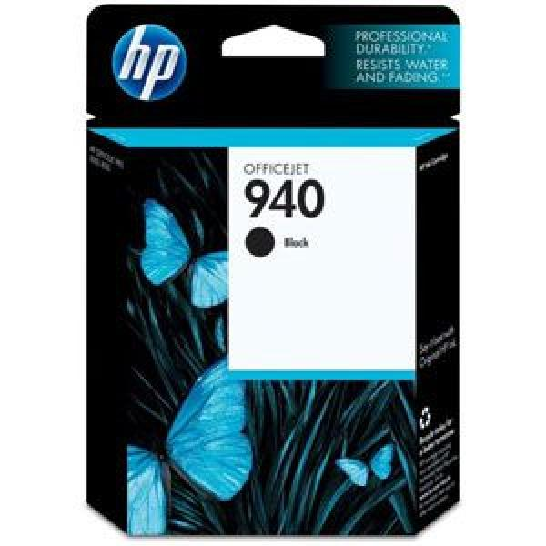 HP No.940 Black Officejet Ink Cartridge, for Officejet Pro 8C4906AE