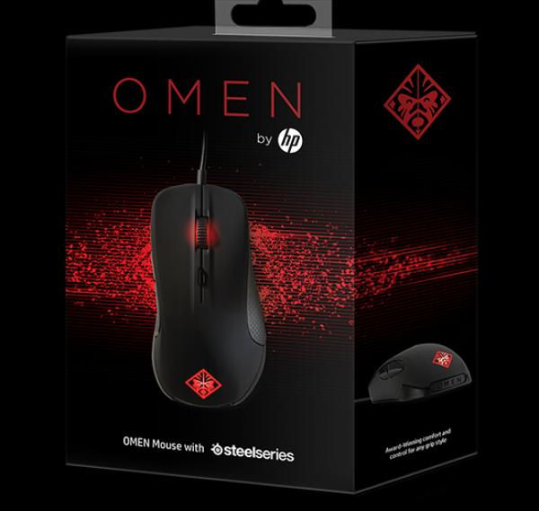 HP Omen Mouse with SteelSeries Black (X7Z96AA)