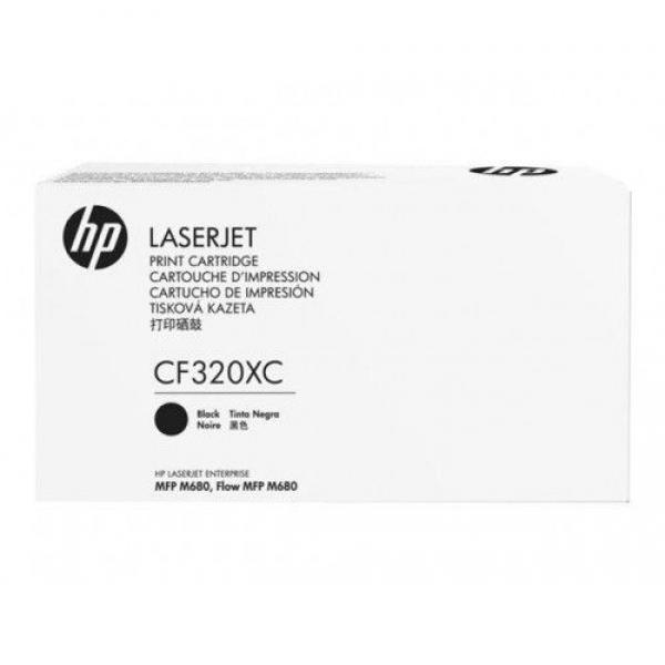 HP PPU Toner Black Color  LaserJet Toner Cartridge M680 series CF320XC