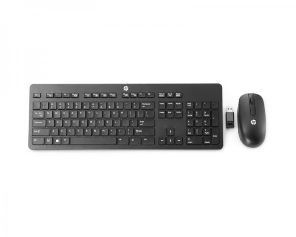 HP Slim Wireless Keyboard and Mouse Black (T6L04AA)