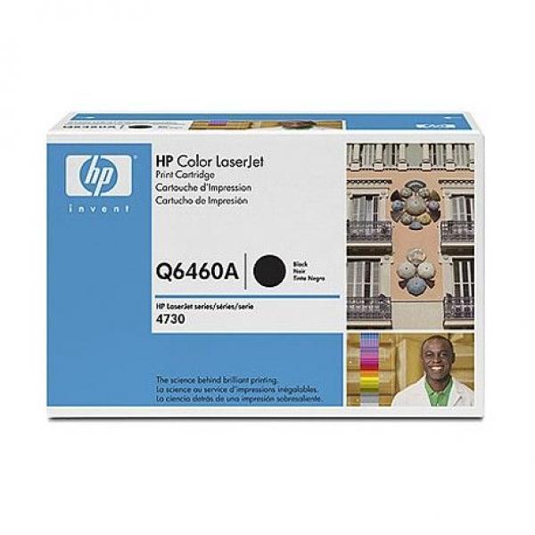 HP Toner Black CLJ 4730mfp [Q6460A]
