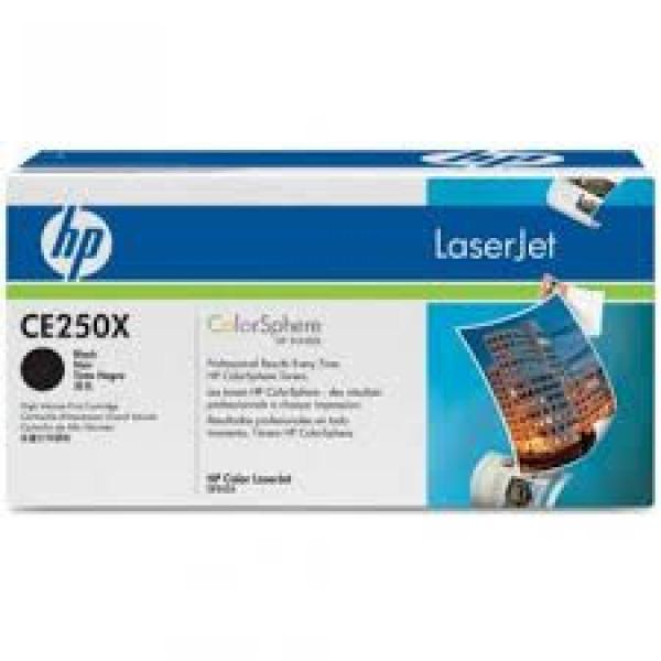HP Toner Black CLJ CM3530/CP3525 [CE250X]