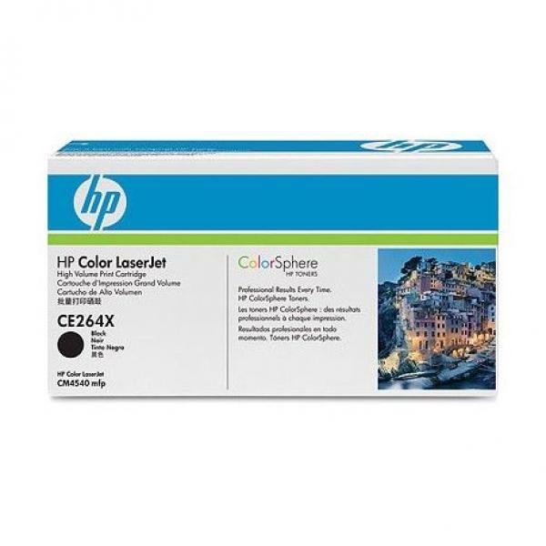 HP Toner Black CLJ CM4540 MFP [CE264X]