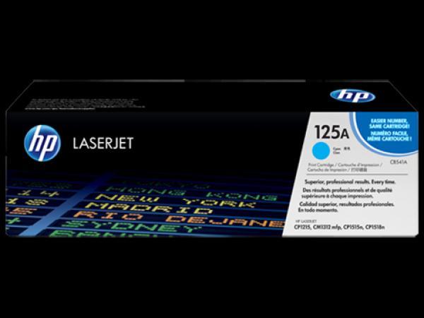HP Toner Cyan CLJ CP1515n/CP1518ni/CP1215/CM1312 MFP [CB541A]