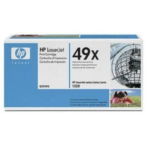 HP Toner LJ 1320/3390aio/3392aio, dual pack high capacity [Q5949XD]