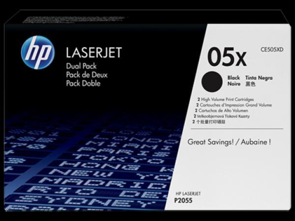 HP Toner LJ P2055, double pack [CE505XD]