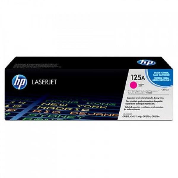 HP Toner Magenta CLJ CP1515n/CP1518ni/CP1215/CM1312 MFP [CB543A]
