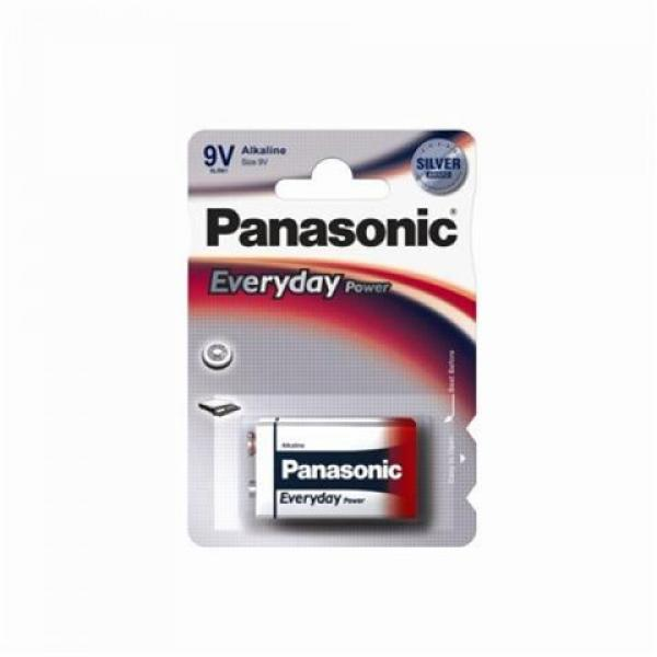 PANASONIC baterije 6LR61EPS1BP -9V Alkalne Everyday