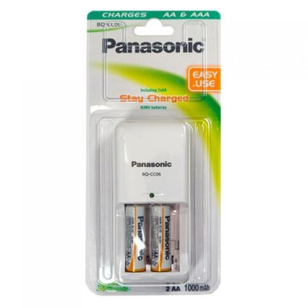 PANASONIC punjač BQ-CC06E1KA*2 P6E1000