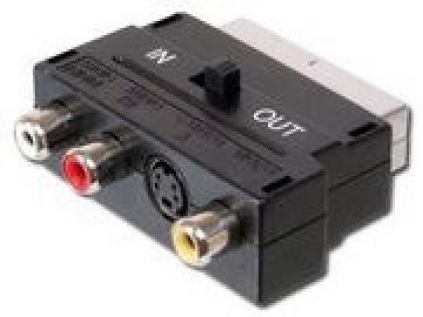 Adapter skart to 3XRCA činčS-VHS