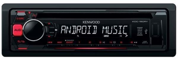 AUTO RADIO Kenwood KDC-150RY - radiocdusb