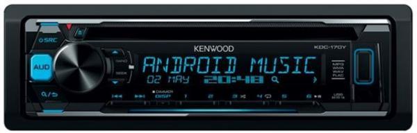 AUTO RADIO Kenwood KDC-170Y - radiousbMP3