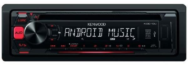AUTO RADIO Kenwood KDC-10UR - radiocdusbAux