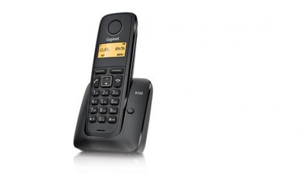 GIGASET telefon A120 black
