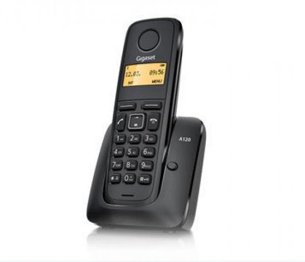 GIGASET telefon A120 black    5 KOMADA