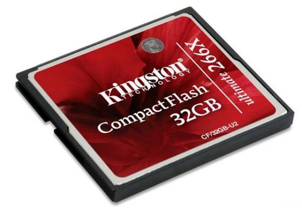 Memorijska kartica Compact Flash Kingston 32GB 266x
