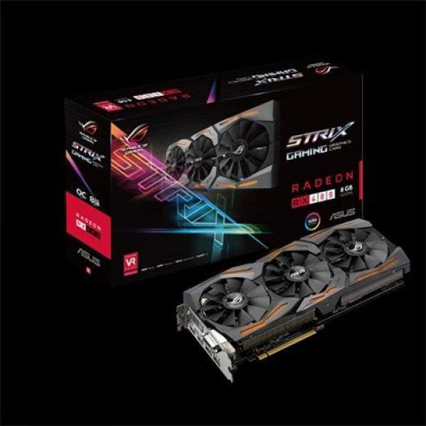 VGA PCIe ASUS STRIX-RX480-O8G-GAMING