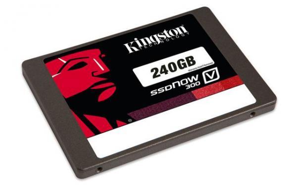 SSD disk Kingston 240GB, SSDNow V300 SATA 3