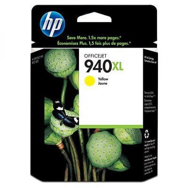 SUP HP INK C4909AE Yellow No.940XL