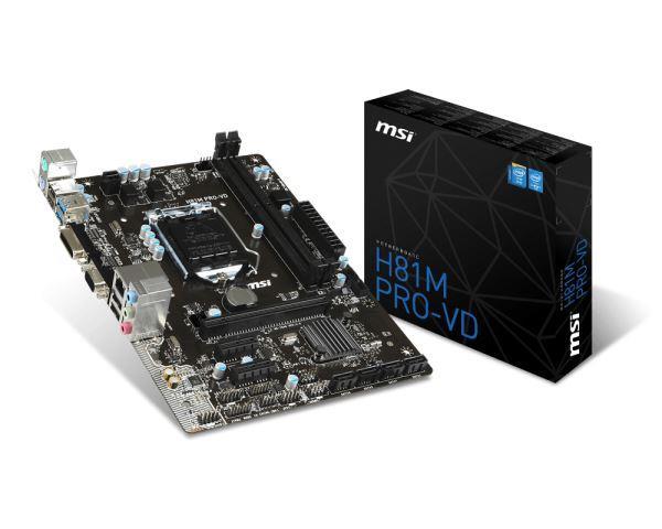 MSI 1150 H81M PRO-VD