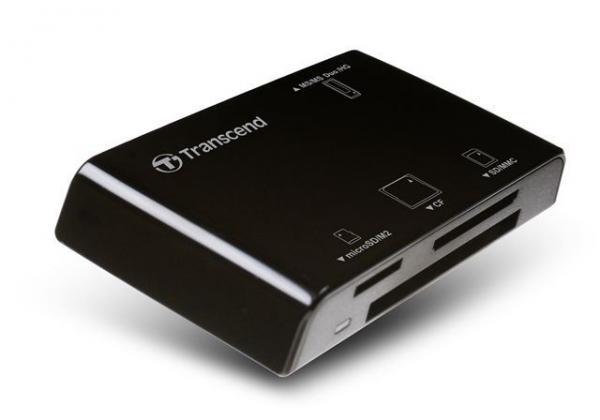 CARD READER TRANSCEND ALL IN 1(USB 2.0) TS-RDP8K