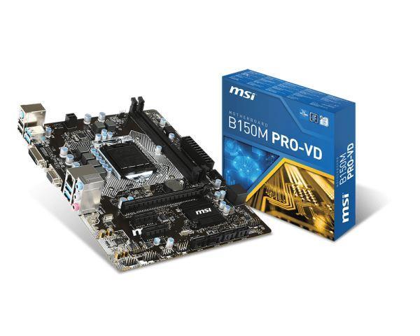 MBO MSI 1151 B150M PRO-VD
