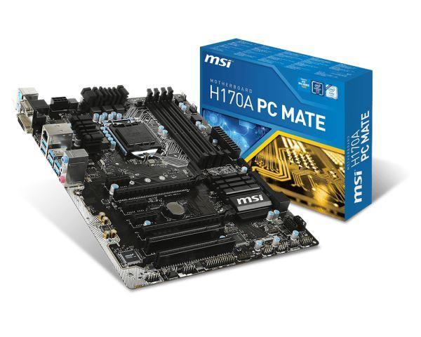 MBO MSI 1151 H170A PC MATE