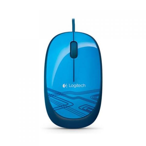MIŠ LOGITECH M105 Blue Retail 910-003105