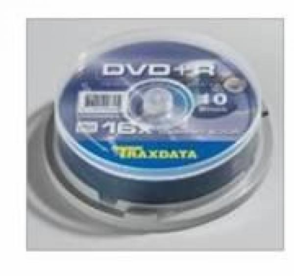 MED DVD disk TRX DVD+R 4.7GB C10