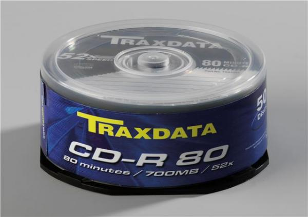 MED CD disk TRX CD-R 52x C50