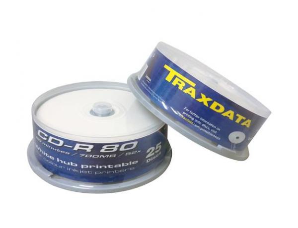 MED CD disk TRX CD-R PRN CAKE 25