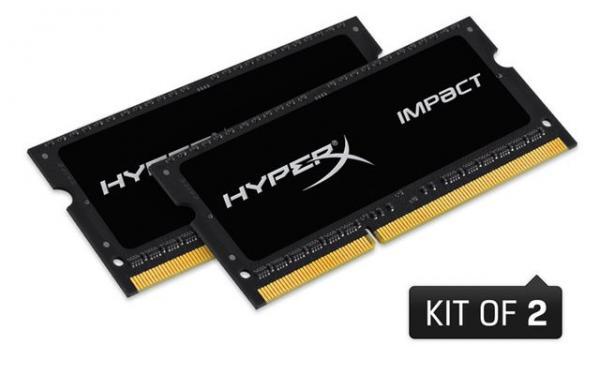 Memorija za prijenosna računala DDR3L 16GB 1600MHz (2x8) HyperX Impact