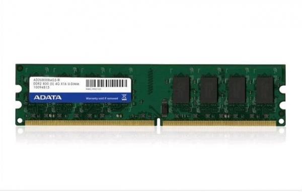 Memorija Adata DDR2 2GB 800MHz Bulk, AD2U800B2G6-B