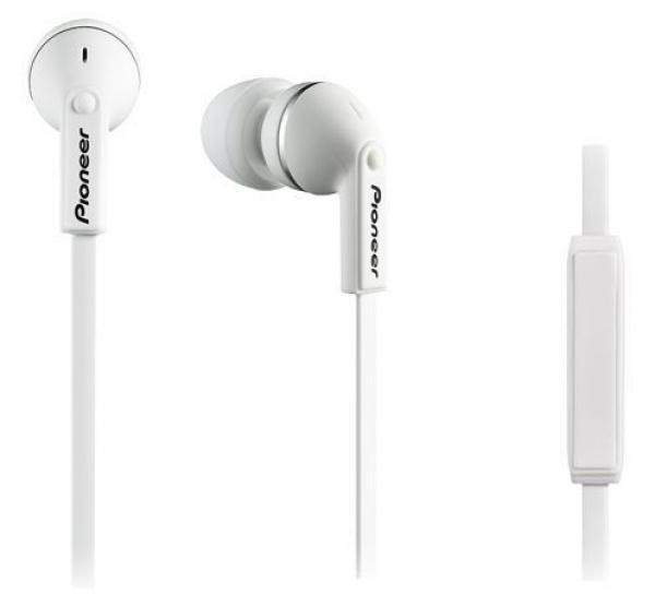 Pioneer slušalice SE-CL712T-W, bele