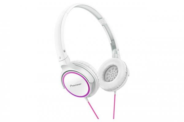 Pioneer slušalice SE-MJ512-PW belaroze