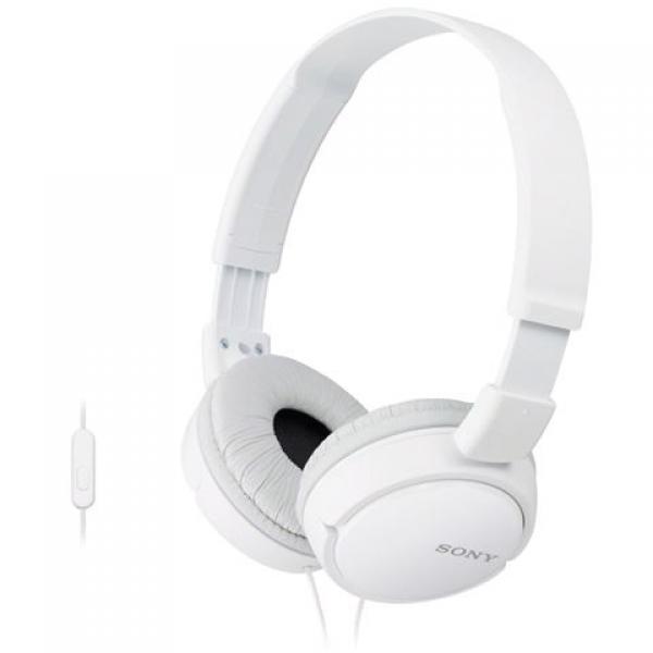 SONY slušalice MDR-ZX110APW white sa mikrofonom