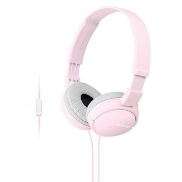 SONY slušalice MDR-ZX110APP pink sa mikrofonom