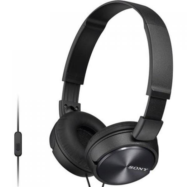 SONY slušalice MDR-ZX310APB black sa mikrofonom
