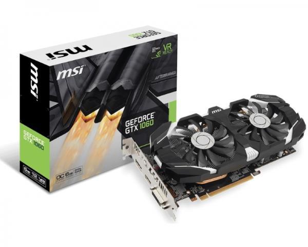 MSI nVidia GeForce GTX 1060 6GB 192bit GTX 1060 6G OC