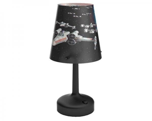 PHILIPS 71888/30/16 stona lampa crna