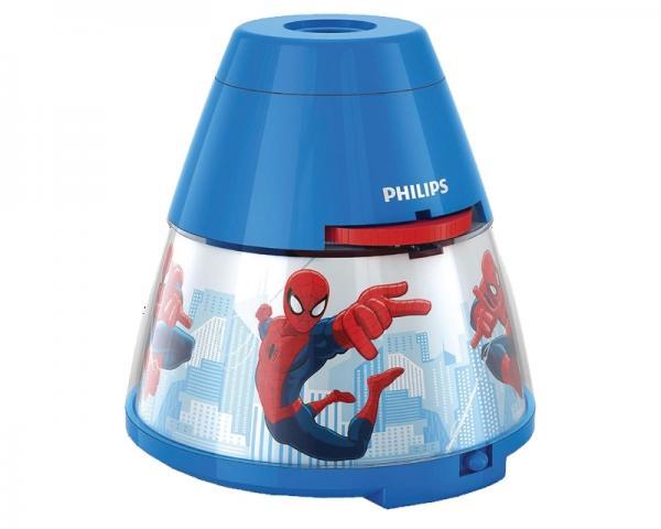 PHILIPS 71769/40/16 3x 0.3W 1x 0.1W stona lampa - projektor plava