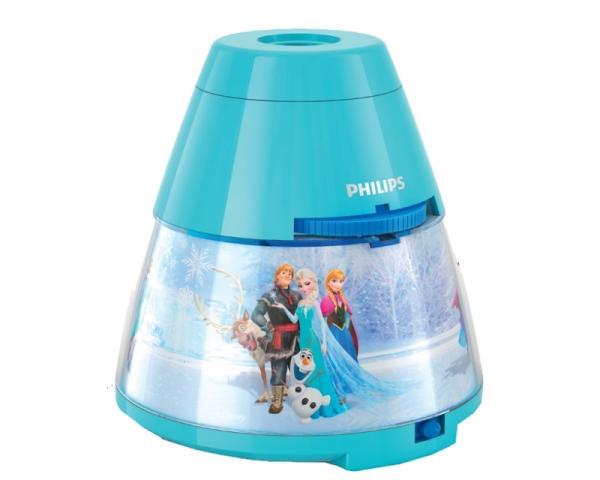 PHILIPS 71769/08/16 3x 0.3W 1x 0.1W stona lampa - projektor plava