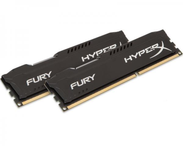 KINGSTON DIMM DDR3 16GB (2x8GB kit) 1600MHz HX316C10FBK2/16 HyperX Fury Black